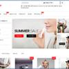 EnvoStorefrontのトップページ