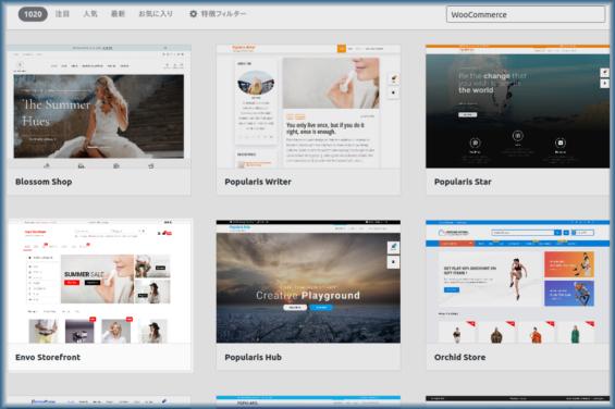 EnvoStorefrontのインストール画面